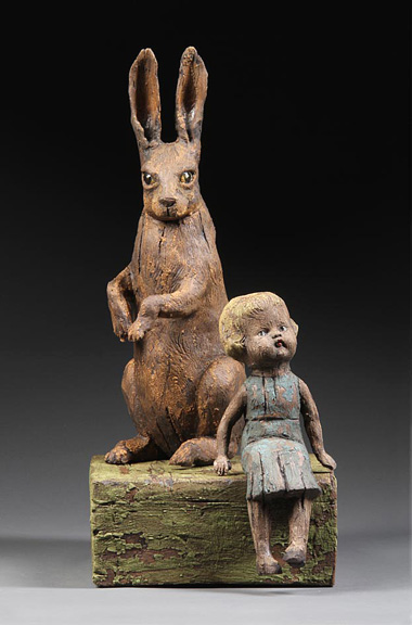 /Child with Brown hare