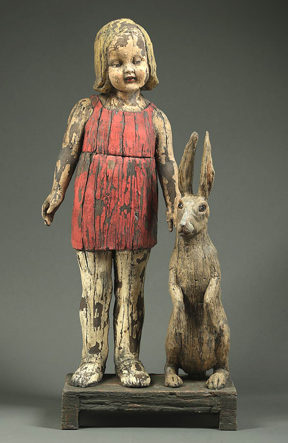 Child With Brown Hare
